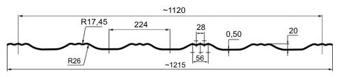 Egeria - tehnični podatki