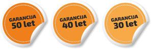 Garancija kritina 10 let